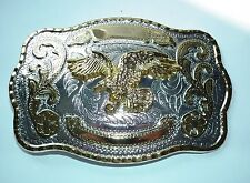 LARGE FLYING EAGLE BELT BUCKLE JUST FITS ON YOUR BELT
