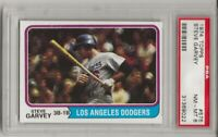 SET BREAK - 1974 TOPPS #575 STEVE GARVEY, PSA 8 NM-MT, LOS ANGELES DODGERS, L@@K