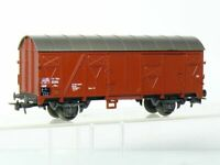 Roco 4304 H0 2-achsiger gedeckter Güterwagen Grs der DB, braun, OVP