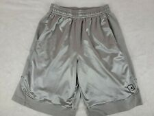 And1 Mens Basketball Shorts Size Medium Silver Stained Snags