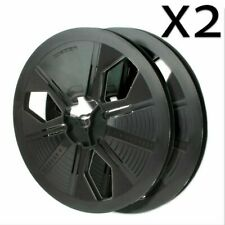 x2 Super 8 Movie Film Reel - 600 Ft. - Autoloading, Take up, Archival Reel