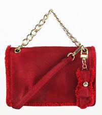 NINE WEST COLMA Ruby Red Fabric Crossbody Bag Msrp $68.00