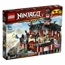 NEW - LEGO 70670 Ninjago Legacy Action Packed Monastery Of Spinjitzu - BNIB