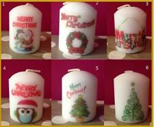 8 cm Personalised Candle Christmas Teacher Teaching Assistant gifts (nonscented)