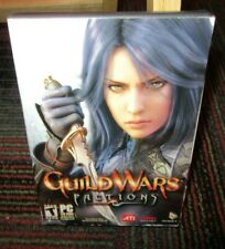 GUILD WARS: FACTIONS 2-DISC PC CD-ROM ONLINE GAME WINDOWS 98/2000/XP, W/ KEY