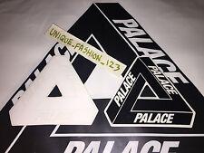 2 Palace Skateboards Noir Blanc Tri Ferg Autocollant SS15 Tri Drapeau Triangle SS16