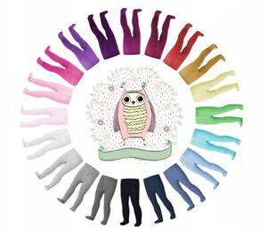 Baby Mädchen Kinder Strumpfhose Kinderstrumpfhosen viele Farben Gr. 80-134