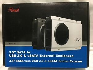 External Rosewill USB/eSATA Enclosure + Seagate 1TB HDD