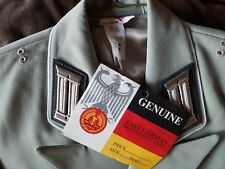 """NEW Authentic East German Army Officers Uniform Jacket Coat S g44 US 32"""" - 40"""""""