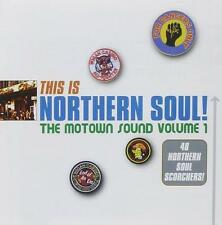 THIS IS NORTHERN SOUL The Motown Sound Volume 1 -Various Artists NEW 2X CD ALBUM