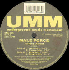 "Male Force - Talking About (12"") Vinyl Schallplatte - 22091"