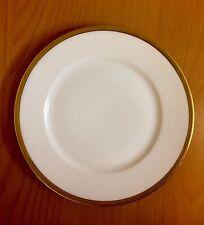"""Vntg W M Guerin Limoges France Gold Rim 7.3"""" diam. Salad - Dessert Plate."""