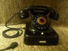 W48 altes antikes SIEMENS Telefon Bakelit Fernsprecher Telephone  TOP