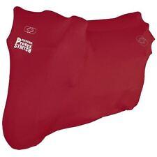 Oxford Protex Premium Elástico Funda para Motocicleta Interior Moto Polvo M Rojo