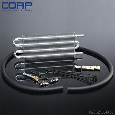 Universal Aluminum Remote Transmission Oil Cooler/Auto-Manual Radiator Converter