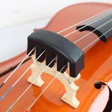 1pc Black High Quality Heavy Rubber Cello Practice Mute Rubber Mute p