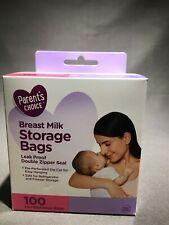 Parent's Choice Breast Milk Storage Bags100 pre sterilized bags