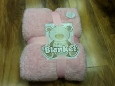 Cuddle Me Blanket 100 x 150 cm, New ( soft Pink)