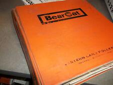 Western Land Roller Bearcat Grind-O-Mix Parts & Operator's manuals, ORIGINAL