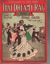 That Dreamy Rag 1909 Large Format Sheet Music