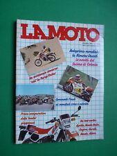 LA MOTO Ottobre 1984 Gilera RX 125 Honda GL 650 VF 500 Aprilia ETX 125 Cagiva