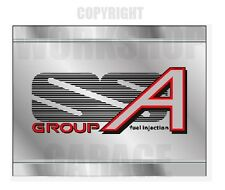 VL SS Group A Holden Commodore Walkinshaw - METAL LOOK - Stickers
