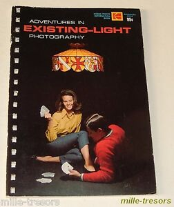 ADVENTURES in EXISTING-LIGHT Photography by KODAK - 1969 - American version