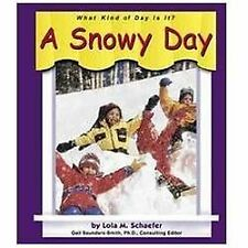 A Snowy Day (What Kind of Day is It?)-ExLibrary