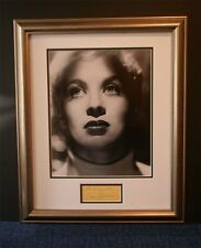Mai Zetterling signed autograph mounted and framed AFTAL Free P+P!