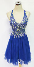 BLONDIE NITES Blue Party Homecoming Prom Dress 7 -$165 NWT