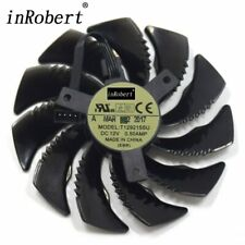 Cooling Fan For Gigabyte GTX 1050 1060 1070 960 RX 470 480 570 580 Graphics Card