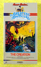 The Creation  Greatest Adventure Bible Stories New VHS Movie Hanna-Barbera Video
