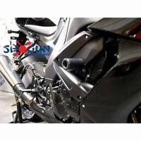OES Frame Sliders /& Swingarm Spools 2003 2004 ZX6RR ZX6R 636 No Cut White