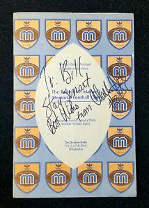 1979 Charles White USC Football Autographed Maxwell Bell Award Dinner Program