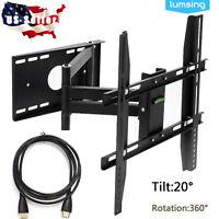 Full Motion TV Wall Mount for Samsung Vizio Sharp LG TCL 17 24 27 32 40 46 47 50