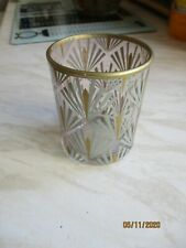 Deco Glam Art Deco stained glass Tealight Holder