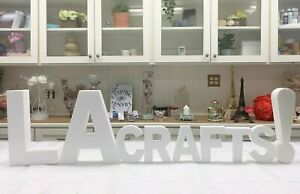 """Smooth Foam Letters - 12"""" Inches x 2"""" Inches Thick"""