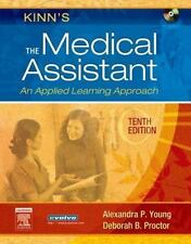 Kinn's Medical Assistant 10th Edition CD ROM Included. Hardcover Young Proctor
