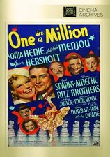 ONE IN A MILLION  (1936 Sonja Henie) - Region Free DVD - Sealed