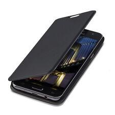 Kwmobile flip cover Case para Samsung Galaxy j5 (2015), negra, funda protectora, estuche,