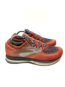 Brooks Bedlam Athletic Running Shoes Orange Grey 1102831D636 Women's Size 9