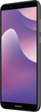 "Huawei Y7 2018 DualSim schwarz 16GB LTE Android Smartphone 6"" Display 13MPX"
