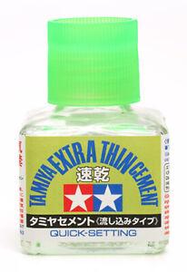Tamiya - Extra Thin Cement Quick Set (40ml)