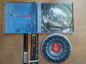 SKID ROW 40 SEASONS THE BEST OF JAPAN WITH OBI (SLAUGTHER MOTLEY CRUE WILDSIDE)