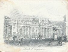 BF12367 bank of england  london united kingdom front/back image