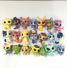 Random 5PCS LITTLEST PET SHOP LPS Mini Figure Cute Animals Cat dog Kid toys