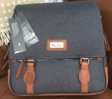 Used  SILVER Cross Changing Bag Sable Wave Returned Bag has some marks Small RP