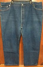 VTG MINT 70s 54 x 30 or 50 x 28 LEVIS 501 RED LABEL STRAIGHT LEG BLUE JEANS USA