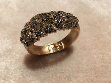 Schiaparelli Swiss Faux Sapphire Watch Bracelet