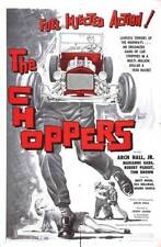 The Choppers DVD film transfer Hot Rod Racing Car Movie 1961